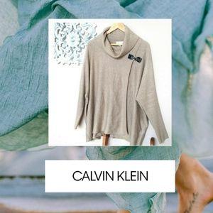 🍁🍂Calvin Klein Poncho Sweater